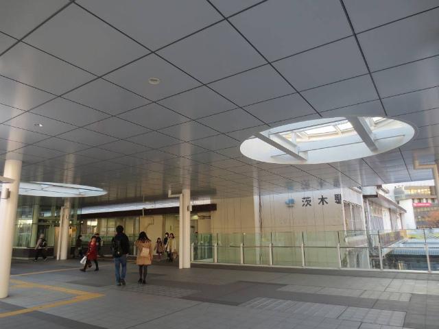 茨木 駅舎