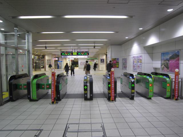 武蔵境中央線改札