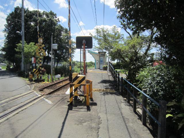 顔戸駅入口