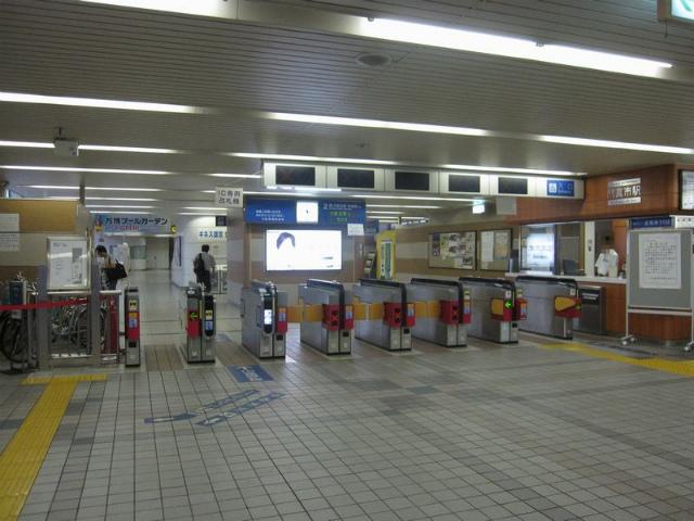 門真市駅   改札画像.net