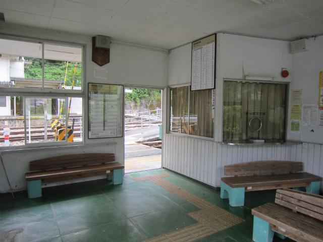 水窪駅舎内部