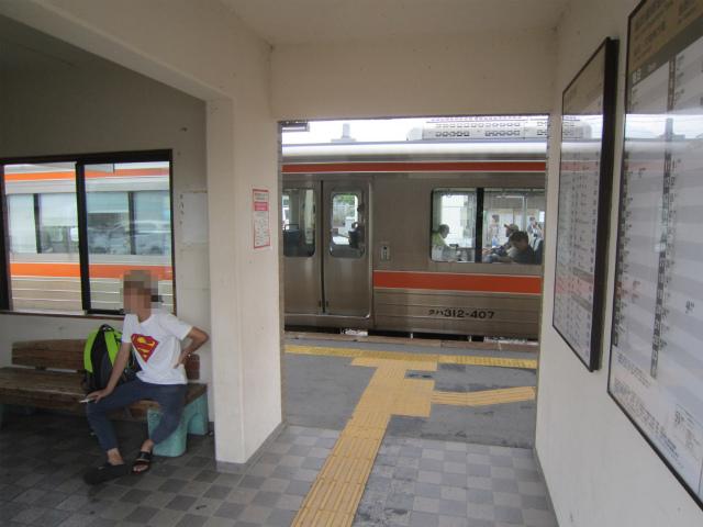 宮田駅改札