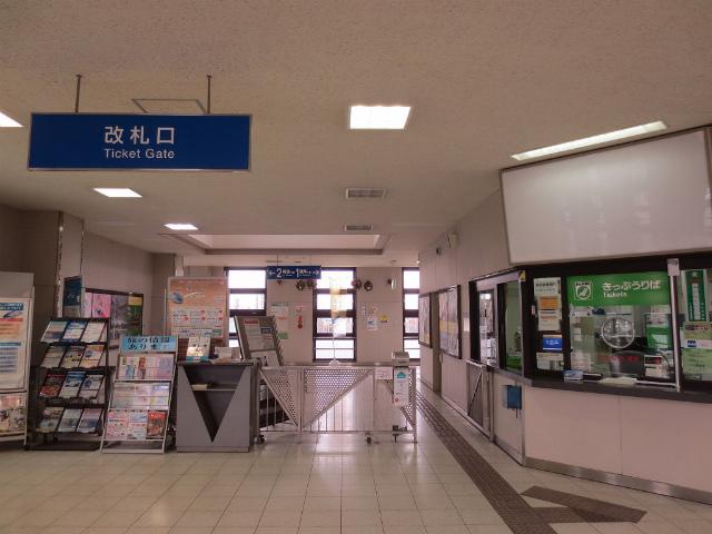 砺波駅 改札