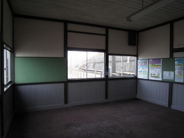 有間川駅舎内部2