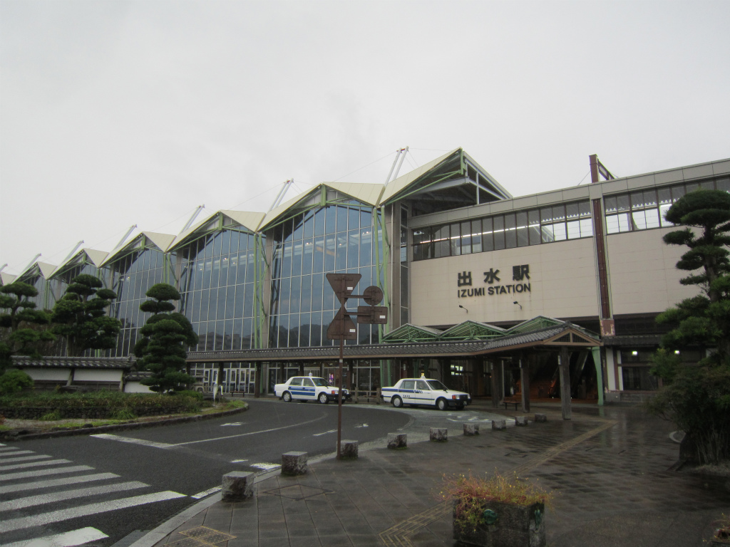 出水駅   改札画像.net