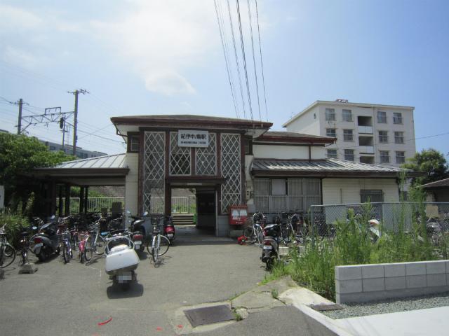 紀伊中ノ島駅舎
