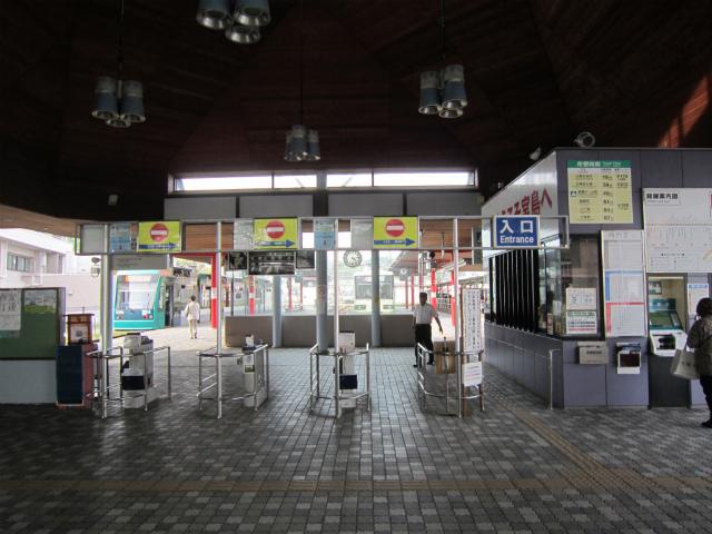 宮島口広電改札