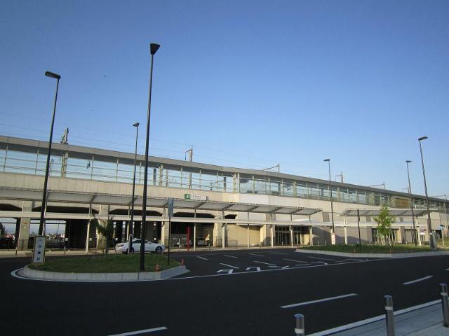 本庄早稲田駅舎