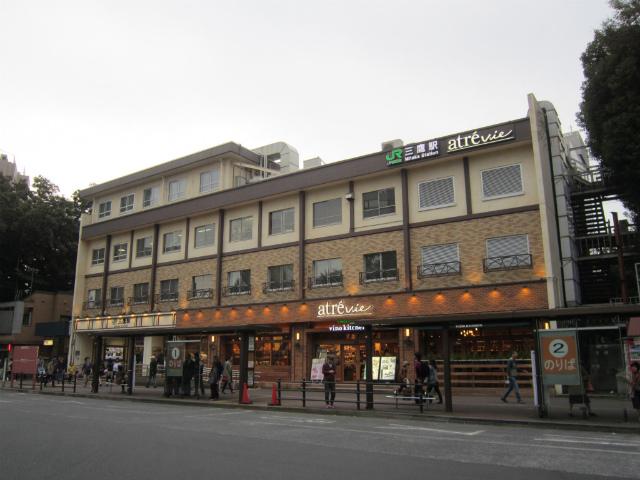 三鷹北駅舎