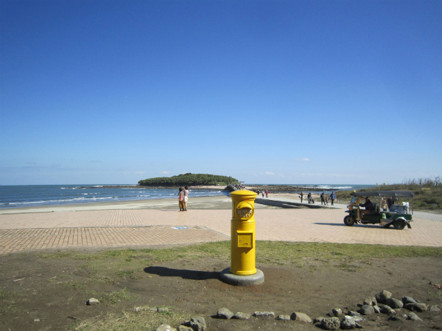 青島黄色いポスト