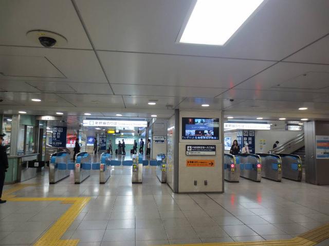 名古屋 新幹線乗り換え改札