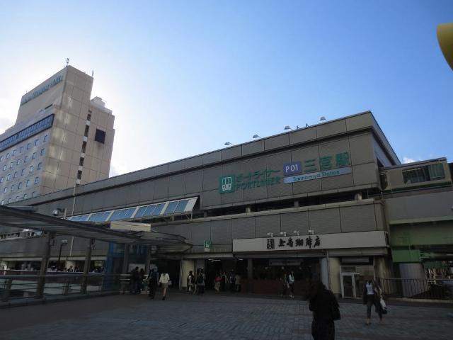 三宮 ポートライナー 駅舎