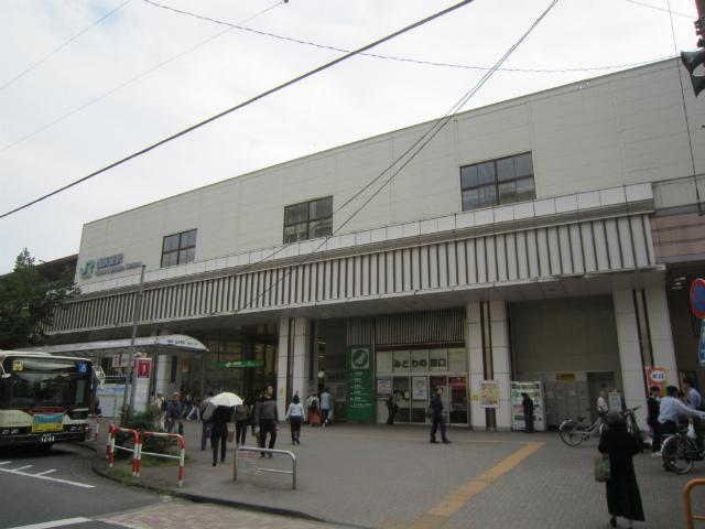 西荻北駅舎