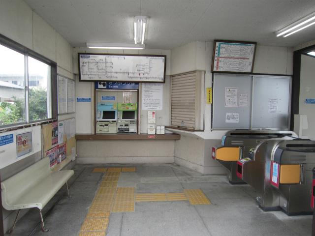 千里駅舎内部