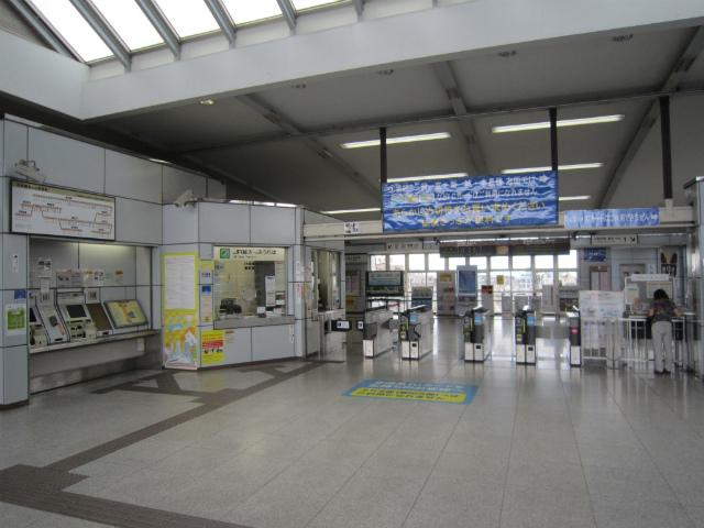 豊川駅舎内部