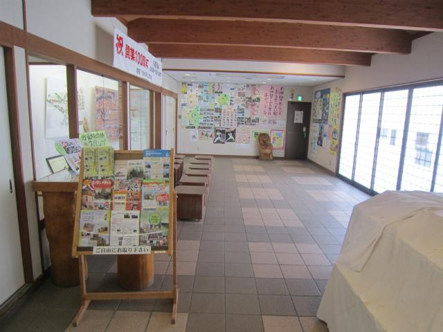 多賀大社前駅舎内部