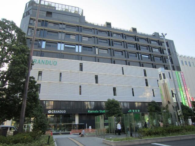 蒲田jr駅舎