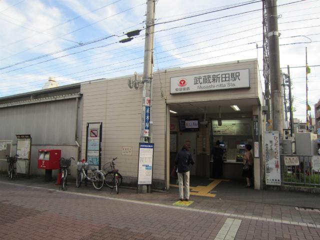 武蔵新田蒲田駅舎