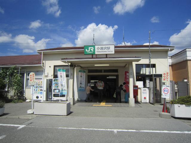 小淵沢駅舎