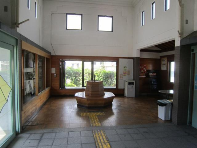 豊郷駅舎内部