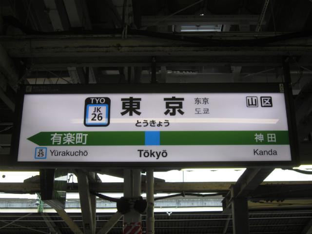 東京京浜東北駅名
