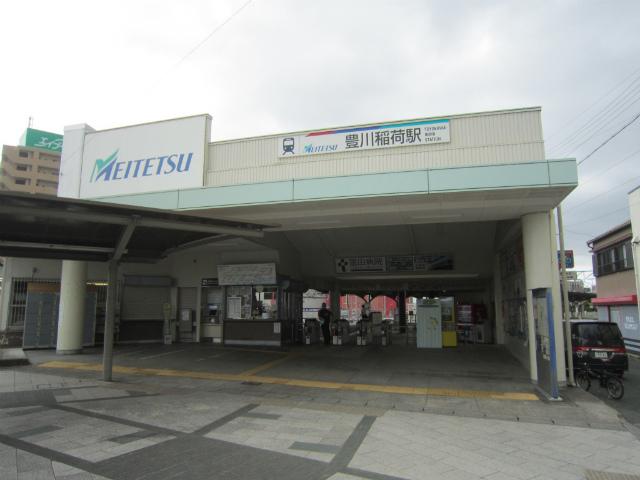 豊川稲荷駅舎