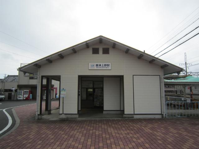 豊津上野駅舎サイド