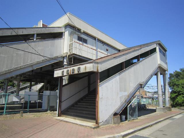 西塩釜駅舎