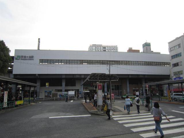 阿佐ヶ谷北駅舎