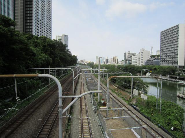 飯田橋線路