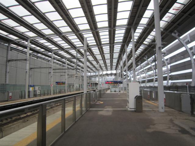 新水俣新幹線ホーム