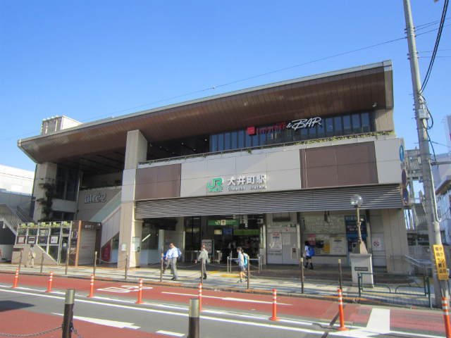 大井町東口駅舎