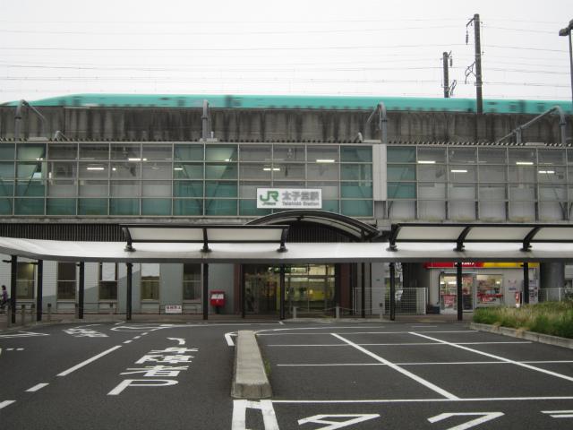 太子堂駅舎