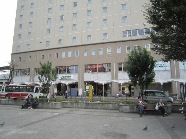 高円寺北駅舎