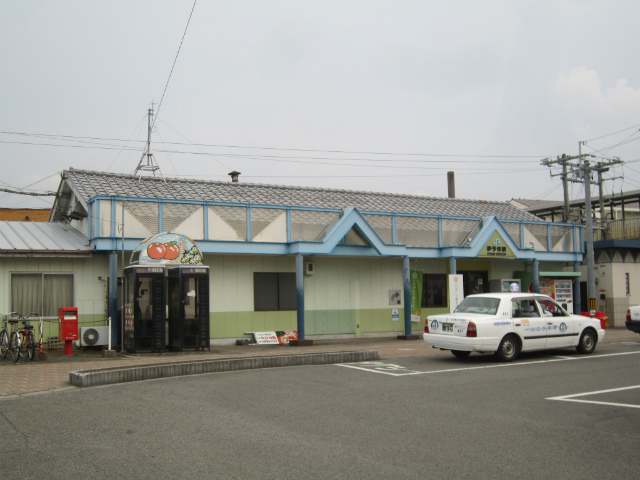 伊予市駅舎