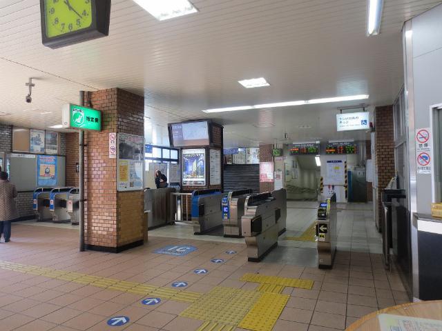 福島駅 改札