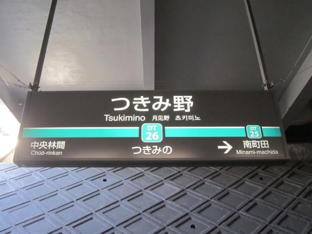 つきみ野駅名