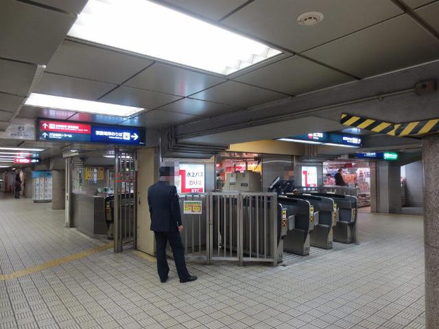 淀屋橋 京阪西改札 出口2