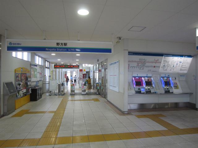 野方駅舎内部
