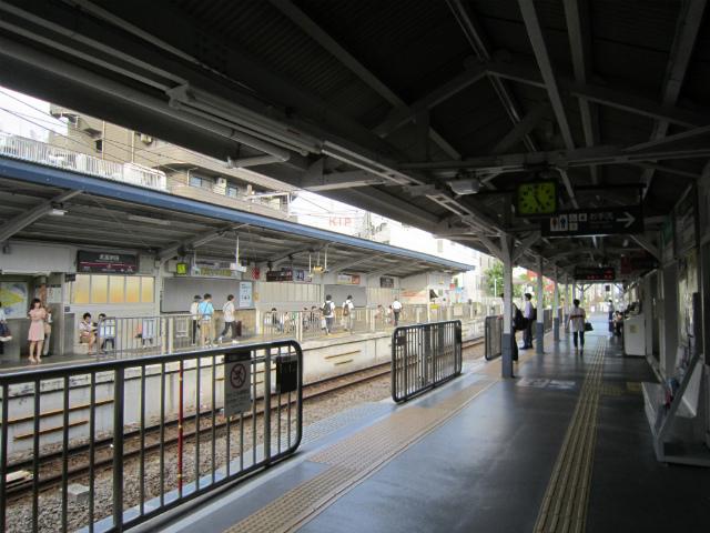 武蔵新田ホーム
