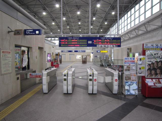川内新幹線改札