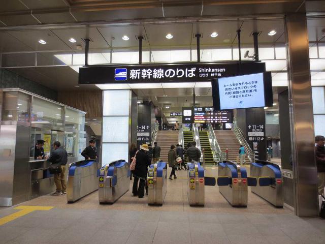 金沢 新幹線改札