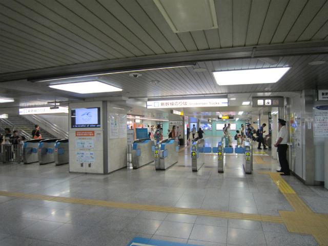 名駅南新幹線乗換