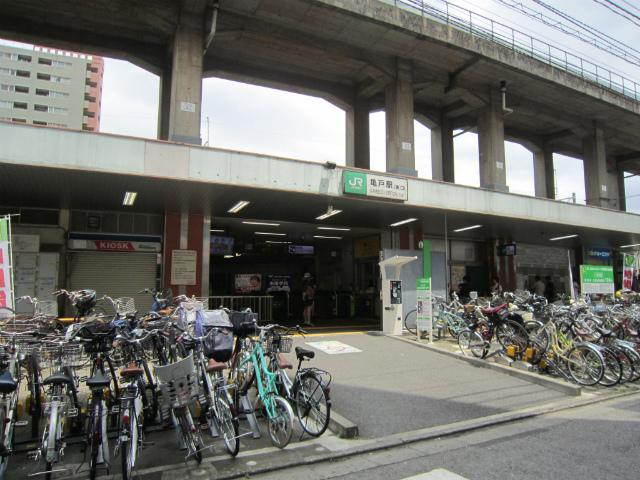 亀戸東口駅舎