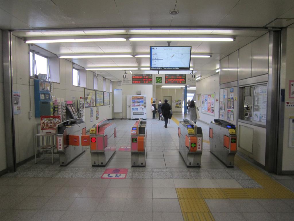 鎌ヶ谷大仏駅 | 改札画像.net