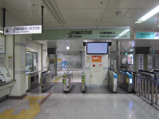 名駅jr太閤通南