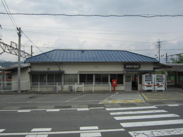 伊那大島駅舎