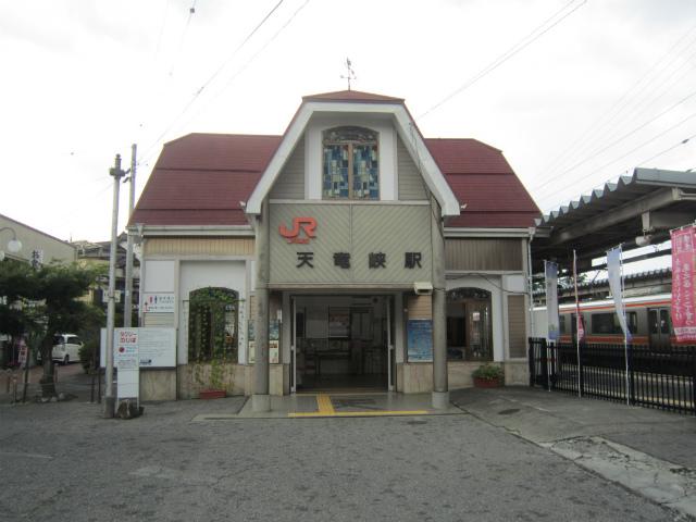 天竜峡駅舎
