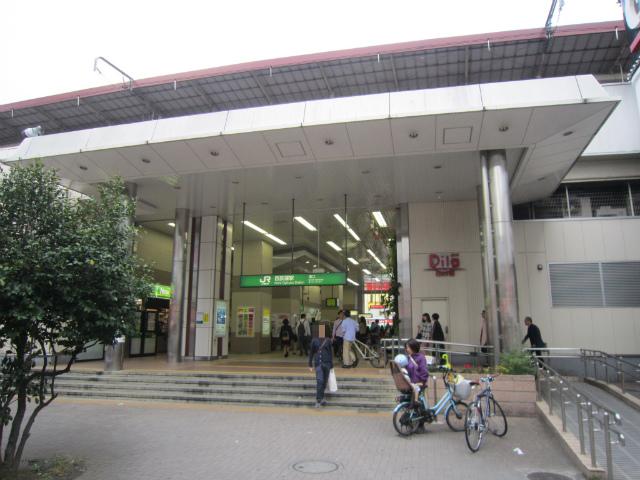 西荻南駅舎