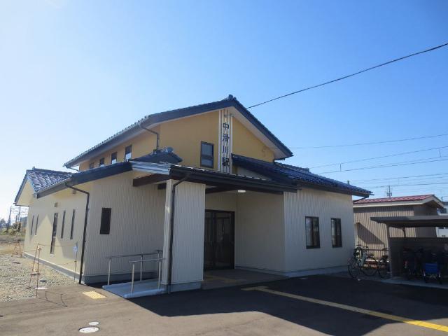 中滑川 駅舎